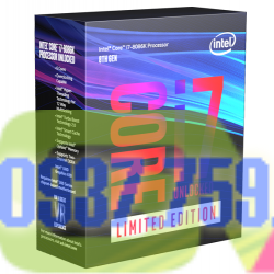 Hình ảnh của CPU Intel Core i7 8086K (6 Cores 12 Threads/ 12MB/ Coffee Lake S) - 40th Anniversary Limited 11999000